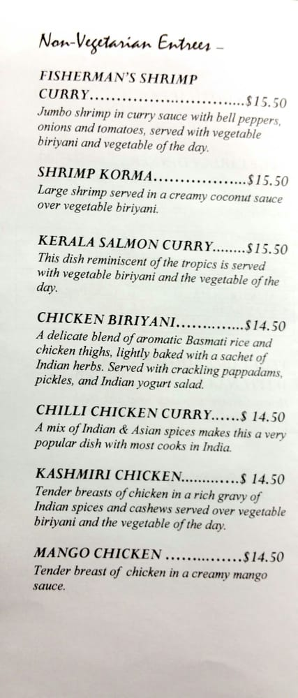 Indian Restaurants Near Augusta Ga