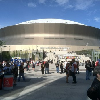 Photo Of Mercedes Benz Superdome   New Orleans, LA, United States. The