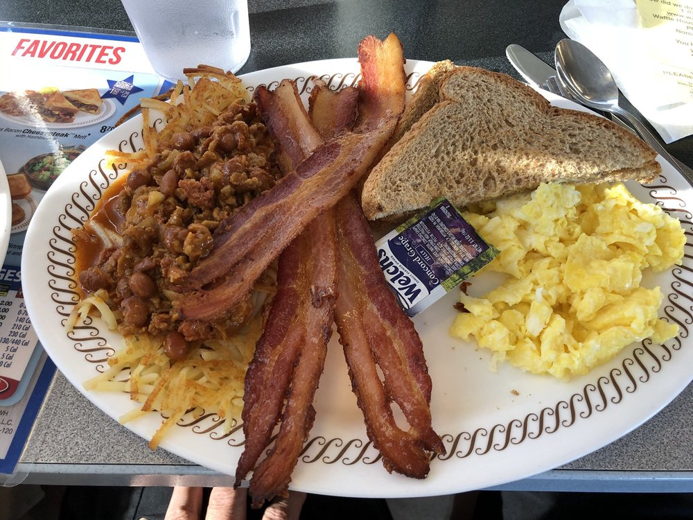 Waffle House: 1208 S Madison St, Webb City, MO