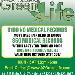 Arizona Green Life - 16 Reviews - Medical Cannabis Referrals - 11829 N 19th Ave, Phoenix, AZ - Phone Number - Yelp
