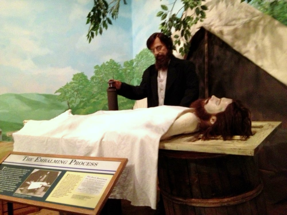 The embalming process - Yelp