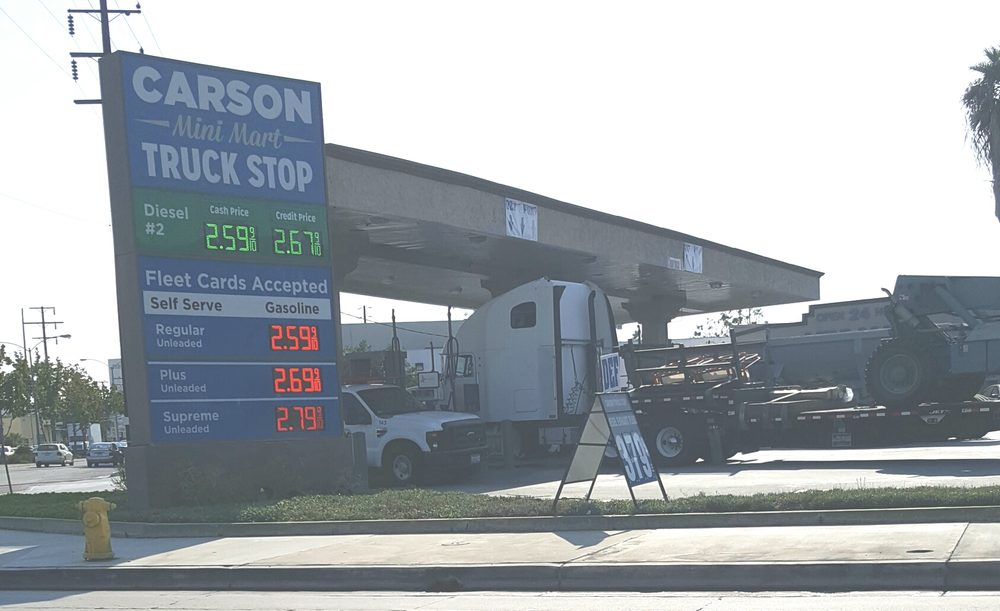 Diesel Gas Stations Near Me >> Carson Mini Truck Stop - Gas Stations - 101 W Victoria St, Gardena, CA, United States - Phone ...