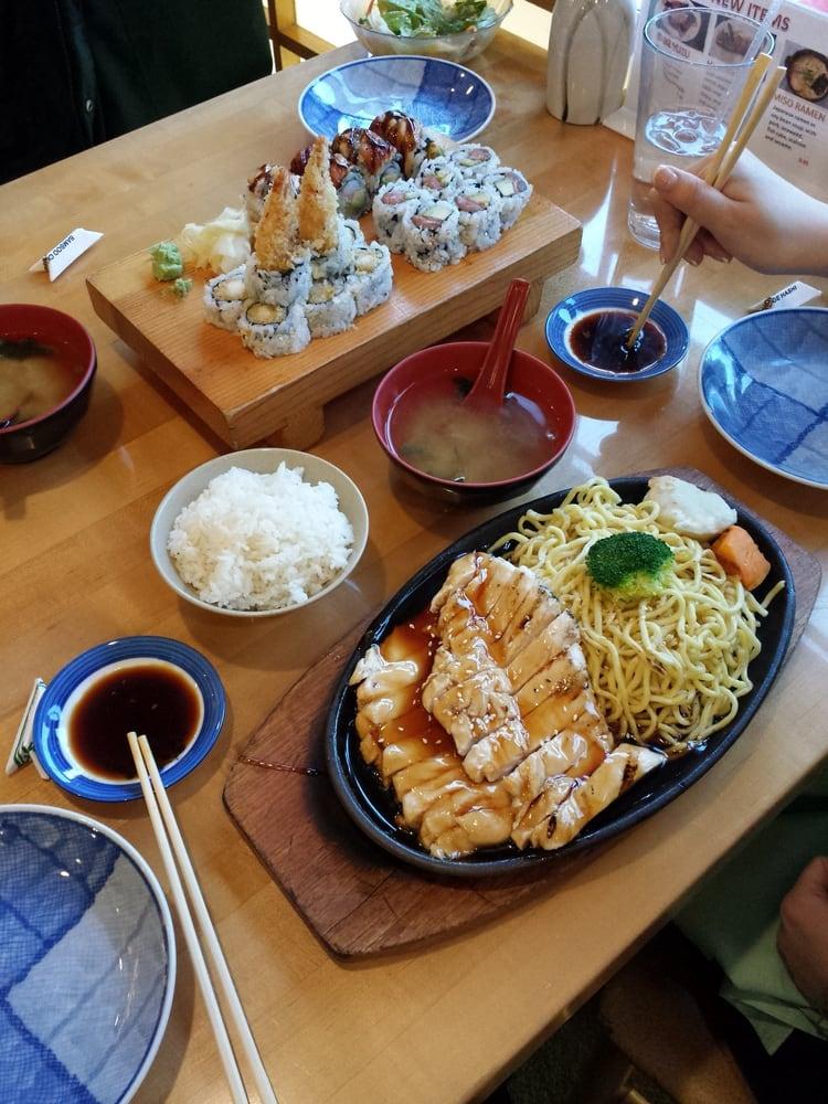 Yama Japanese Restaurant Menu