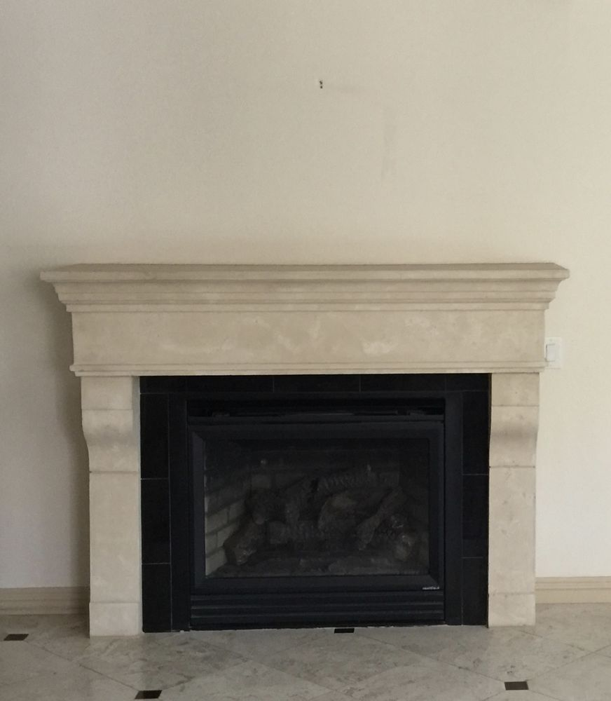 Incredible Our New Fireplace Mantel Was Just Installed The Other Day Home Interior And Landscaping Transignezvosmurscom