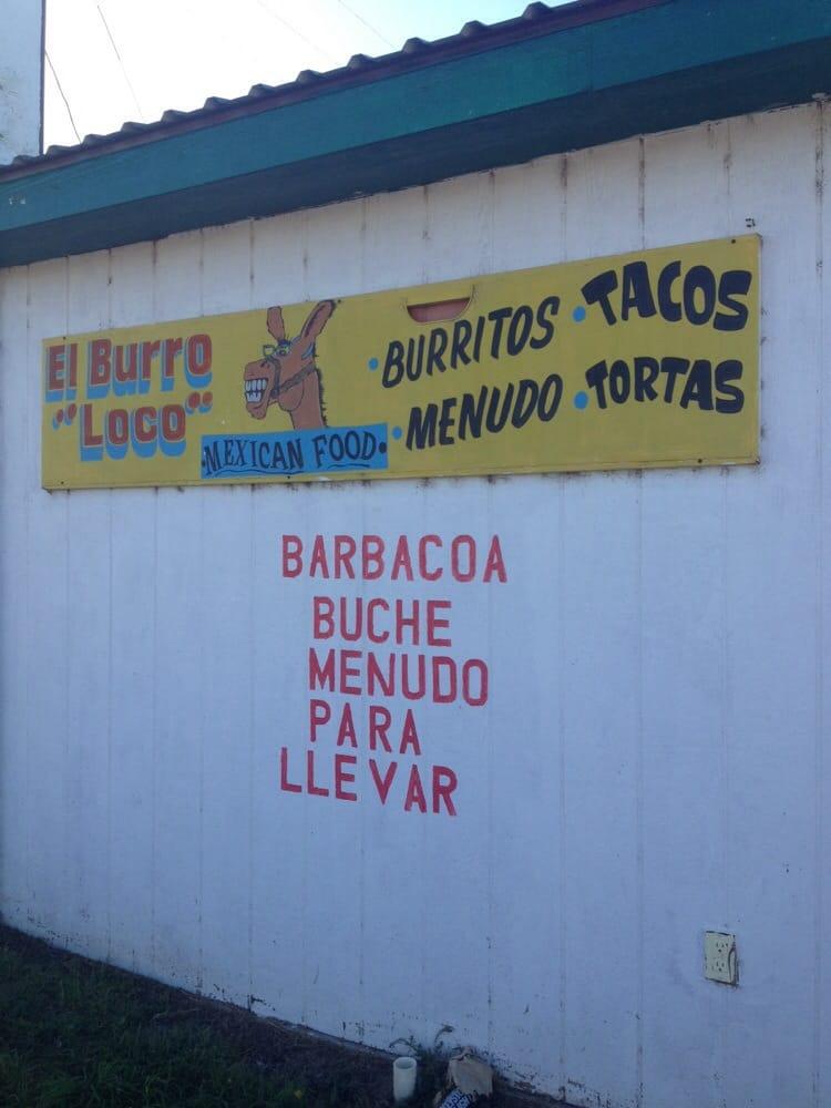 El Burro Loco: 211 W Hwy 54, Texhoma, OK