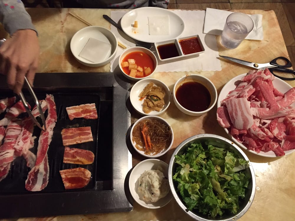 My fave kbbq simple and yummy yelp for Korean restaurant garden grove