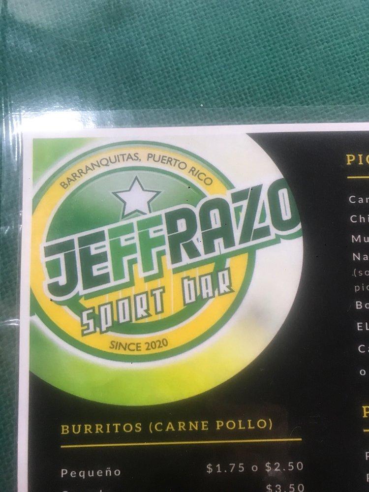 El Jeffrazo: Calle Muñoz Rivera 21, Barranquitas, PR