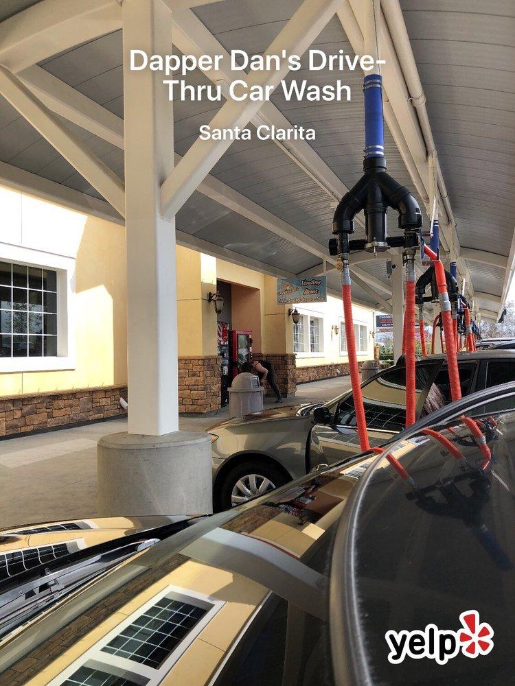 Dapper Dan's Drive-Thru Car Wash: 23255 Magic Mountain Pkwy, Santa Clarita, CA
