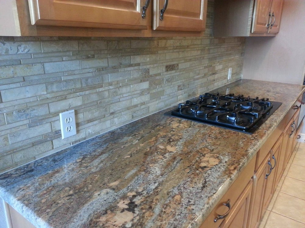 Photo Of Fox Granite   Austin, TX, United States. Crema Bordeaux Granite  With