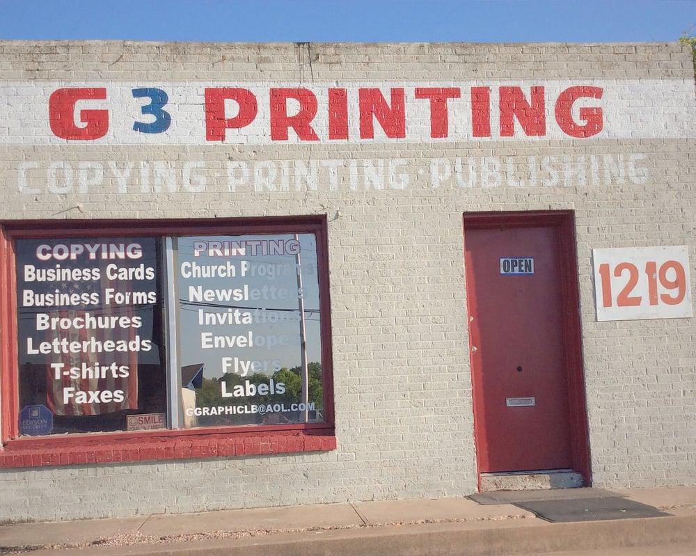 G3 Printing