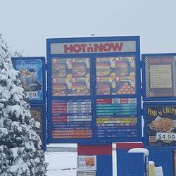 fast food open near me drive thru