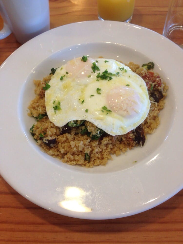 Power Breakfast Quinoa Bowl Great Start To Your Day Yelp
