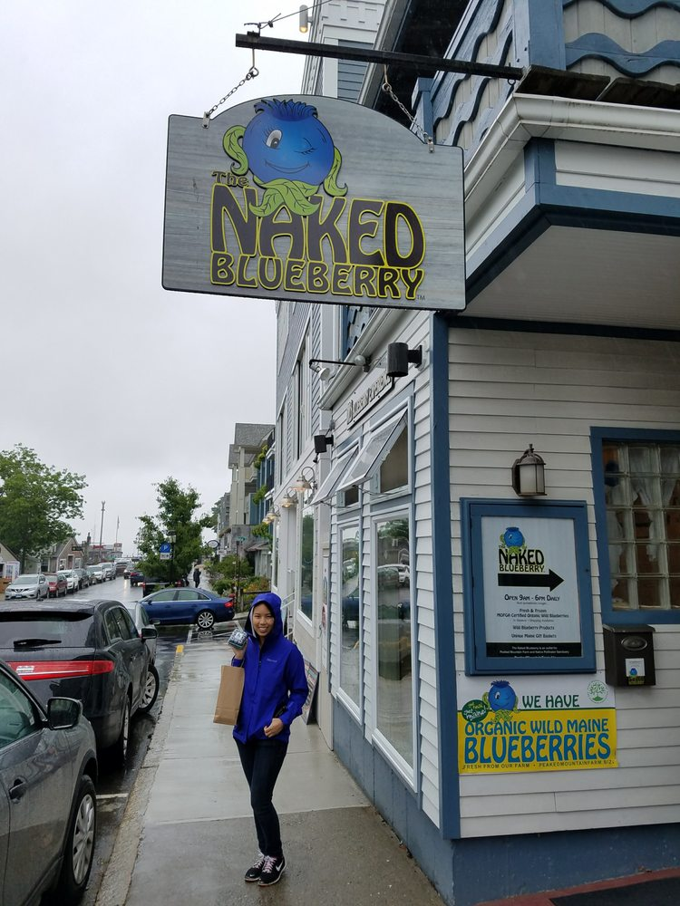 The Naked Blueberry: 78 West St, Bar Harbor, ME