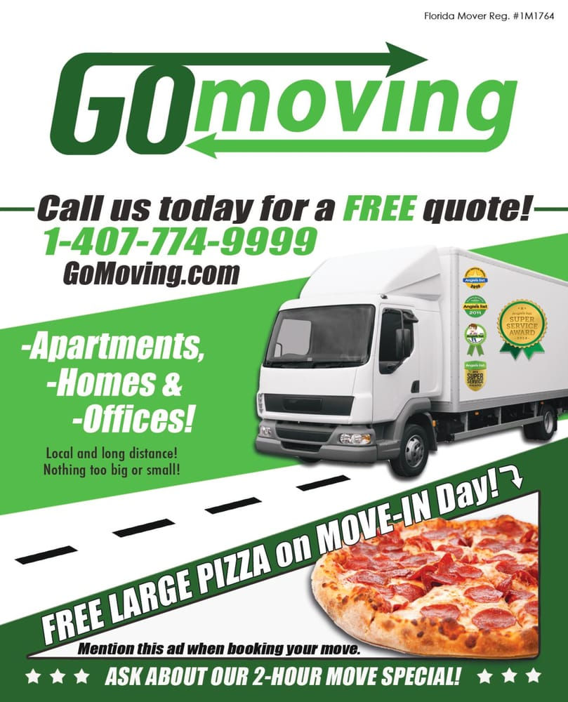 Go Moving: 2575 S US Hwy 17/92, Casselberry, FL