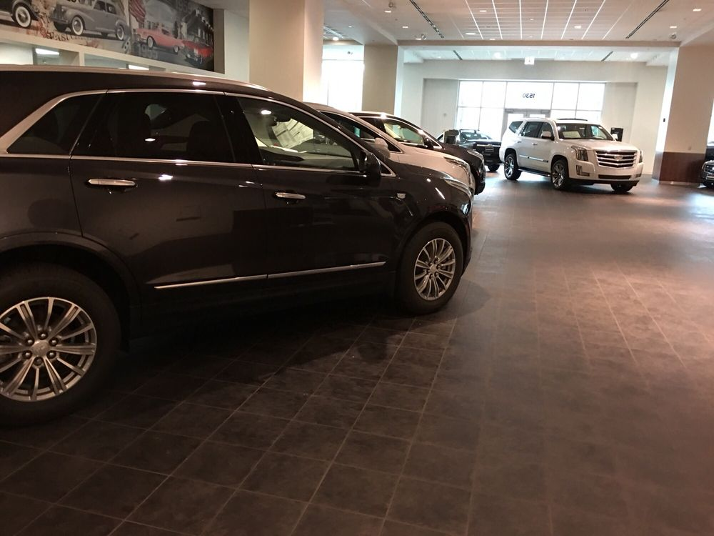 tinley cadillac serving new select chicago dealer dealers used park rizza in