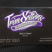 Trim setters barbershop barbers 2805 williams blvd kenner la lounge photo of trim setters barbershop kenner la united states business card reheart Choice Image