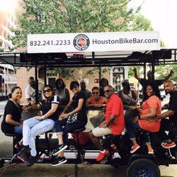 Houston Bike Bar 22 Photos Pedicabs 2215 Commerce St