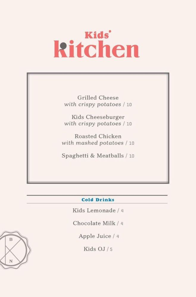 Barnes And Noble Kitchen Folsom Menu