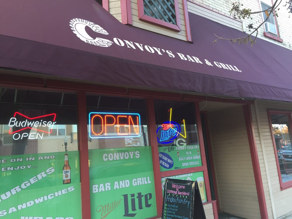Convoy's Bar & Grill: 112 W Fulton St, Edgerton, WI