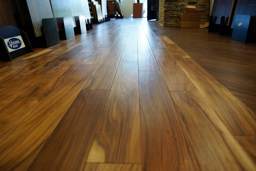 Elbrus Hardwood Flooring Acacia Cocoa Brown Bausen Is Here At Glamour Los Angeles Yelp