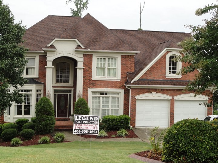 Complete Roofing Job By We Are Legend Roofing Atlanta Ga