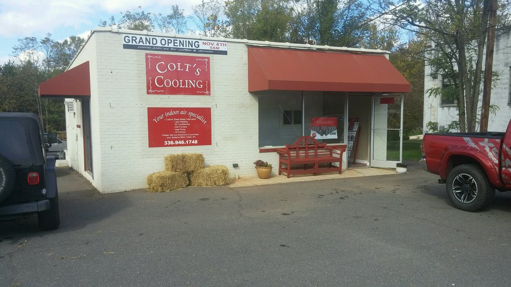 Colt's Cooling: 6321 Shallowford Rd, Lewisville, NC