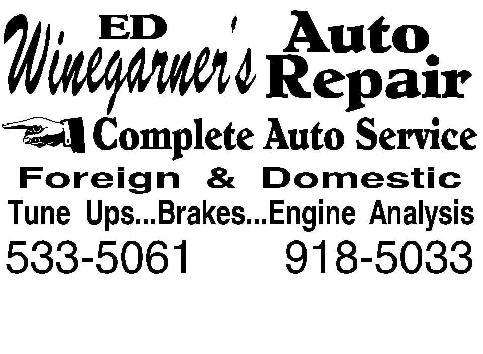 Winegarner's Auto Service: 1301 Marion Ave, Centralia, IL