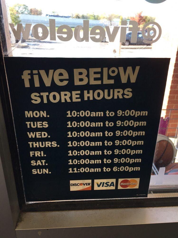 821e8555b Castleton Square Five Below Store Hours - Yelp