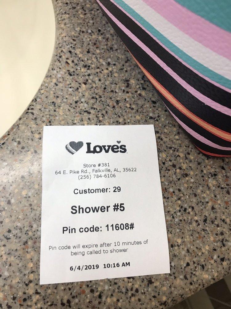 Love's Travel Stop: 64 E Pike Rd, Falkville, AL