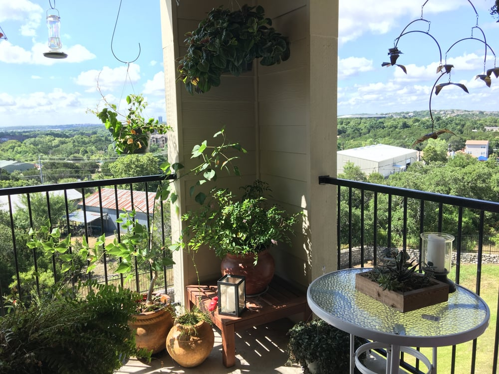 Balcony Transformation Courtesy Natural Gardener Yelp