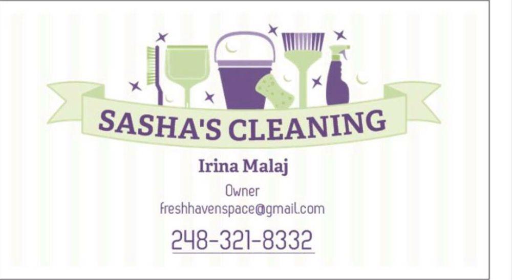 Sasha's Cleaning