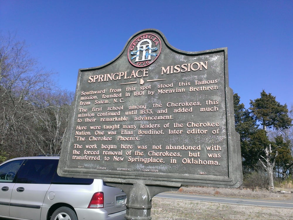 Spring Place Mission: Hwy 52, Chatsworth, GA