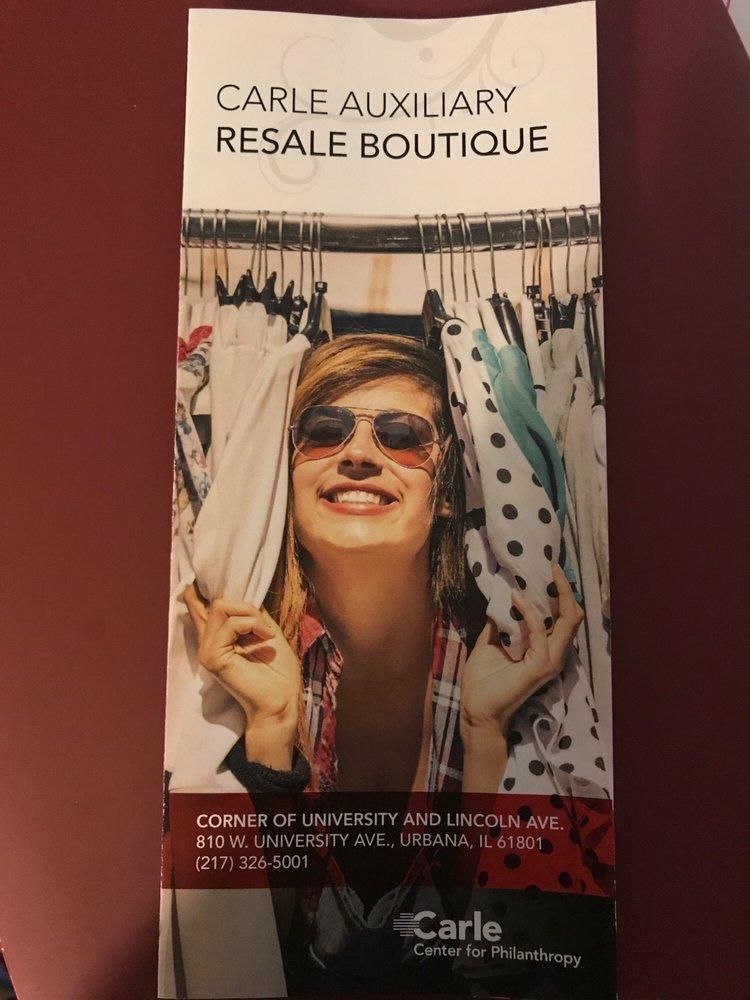Carle Auxiliary Resale Boutique: 810 W University Ave, Urbana, IL