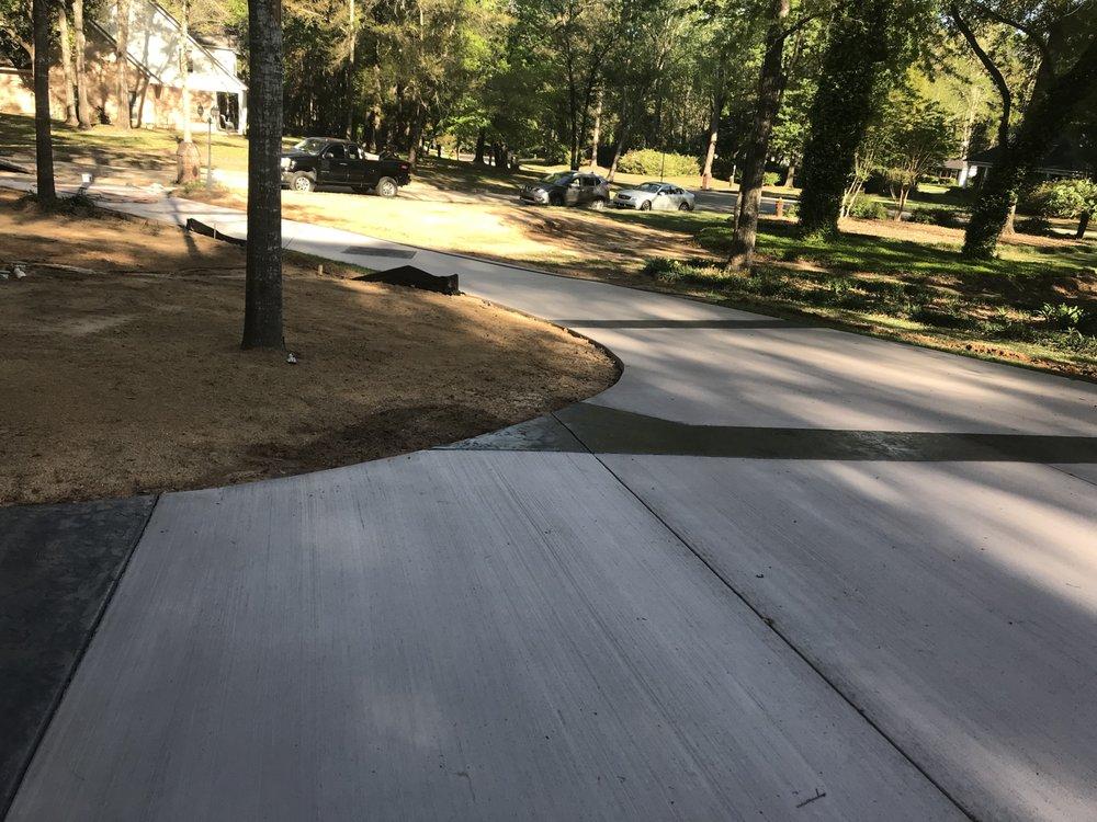 Foxcrete Decorative Concrete Designs: 504 Fairhope Ave, Fairhope, AL