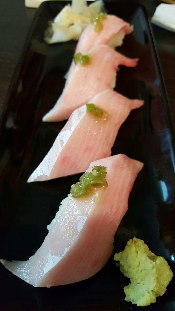 Yellowtail Belly Sushi Yellowtail belly sushi...