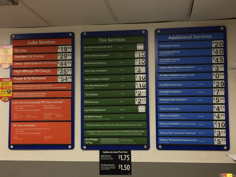 Walmart Car Service Center: I Wasn't Expecting Much, But I Came Out Impressed By The