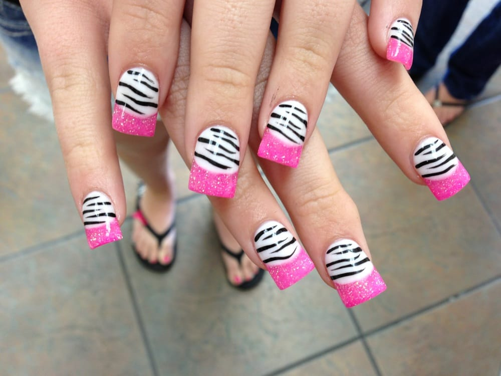 Photo Of Rockstar Nails Spa Simi Valley Ca United States Pink