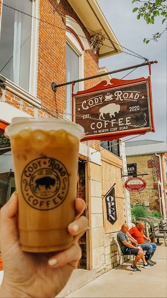 Cody Road Coffee: 114 N Cody Rd, Le Claire, IA
