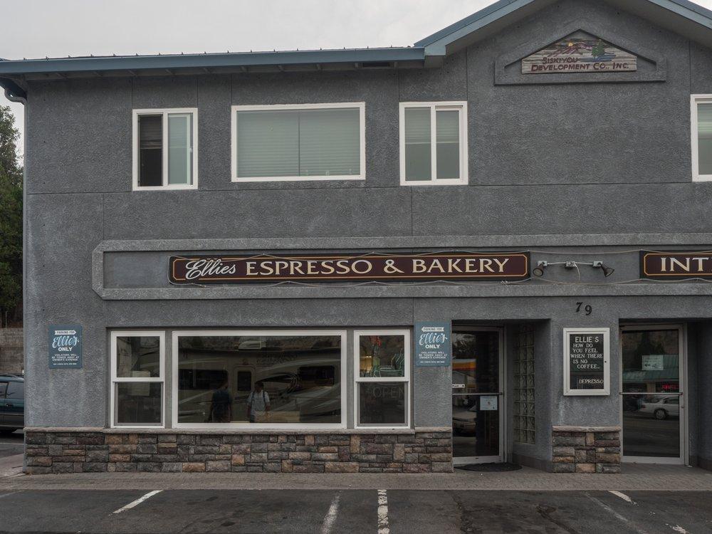 Ellie's Espresso & Bakery: 79 S Weed Blvd, Weed, CA