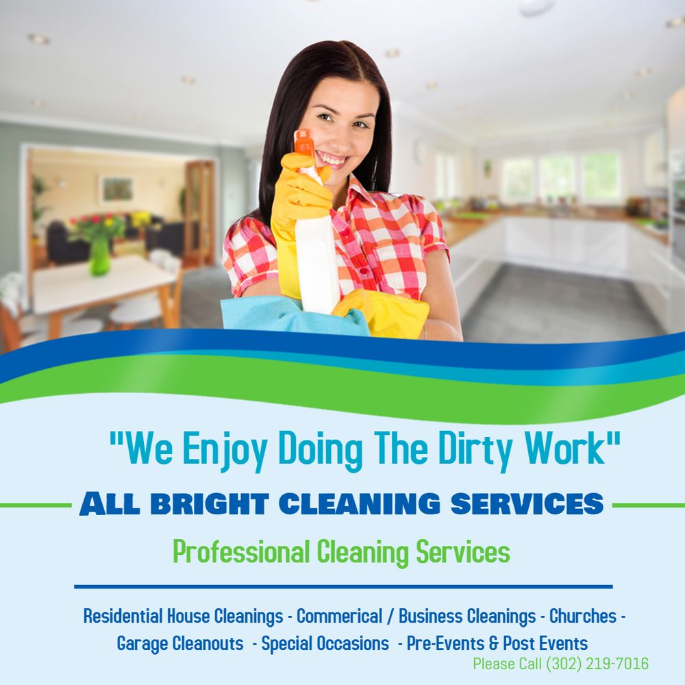 All Bright Cleaning Services: 117 Malcolm Forest Rd, New Castle, DE
