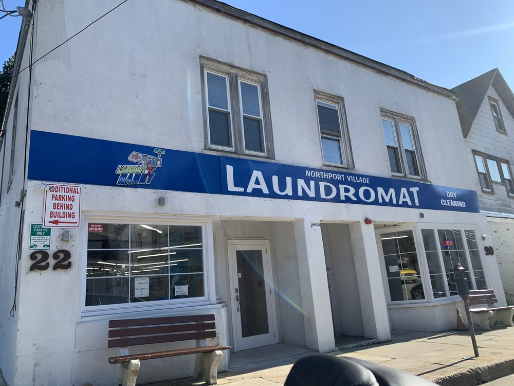 Northport Village Laundromat & Cleaners: 20 Scudder Ave, Northport, NY