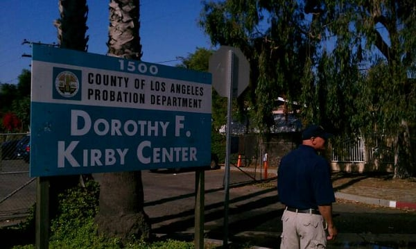 a report on the los angeles probation county department