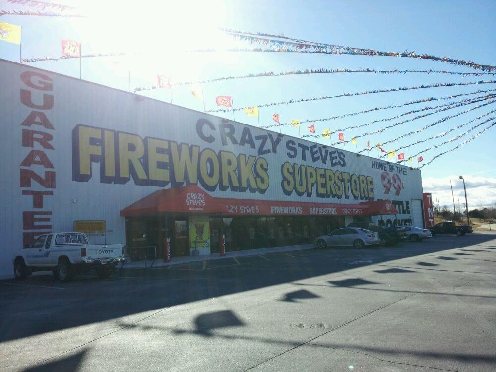 Steve's Fireworks: 101 Lakeshore Dr, Fair Play, SC