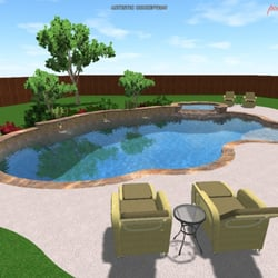 Pulliam pools 19 photos contractors 403 w grand pkwy for Pool design katy tx
