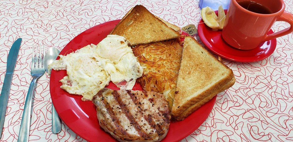 Food from Main Street Diner