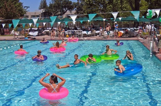 Our heated 25 yard pool is the center of many activities - Palo alto ymca swimming pool schedule ...