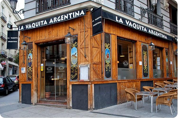 La vaquita argentina argentino calle de ca os del - Consulado argentino en madrid telefono ...