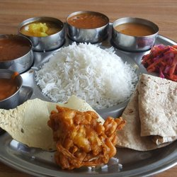 Photo Of Vatica Indian Cuisine Marietta Ga United States Vegan Thali