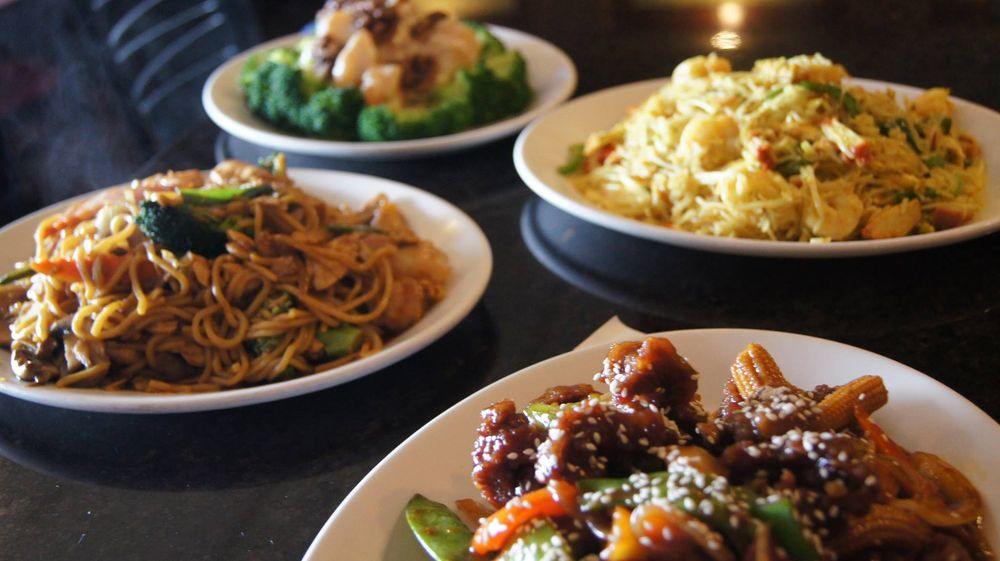Food from Imperial Wok Chinese Restaurant