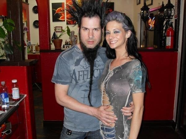 Wayne Static Static X And His Wife Tera Wray Yelp
